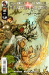 Cyberforce/Hunter-Killer #1A Signed: Mark Waid & Kenneth Rocafort