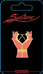 Sunstone Hands Pin