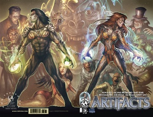 Artifacts #3G Wrap-Around Cover Virginia Comic Con Exclusive