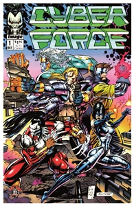 Cyber Force Issue #1 Print