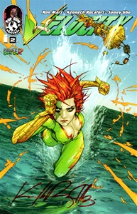 Velocity #2 Project Comic Con Exclusive Variant - Signed: Kenneth Rocafort