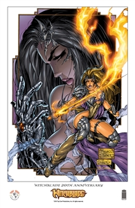 Witchblade Anniversary Print