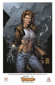 Witchblade Anniversary Print #11