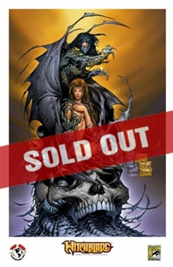 Witchblade/Darkness San Diego Comic Con 2014 Exclusive Print