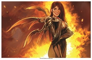 Witchblade NYCC Print